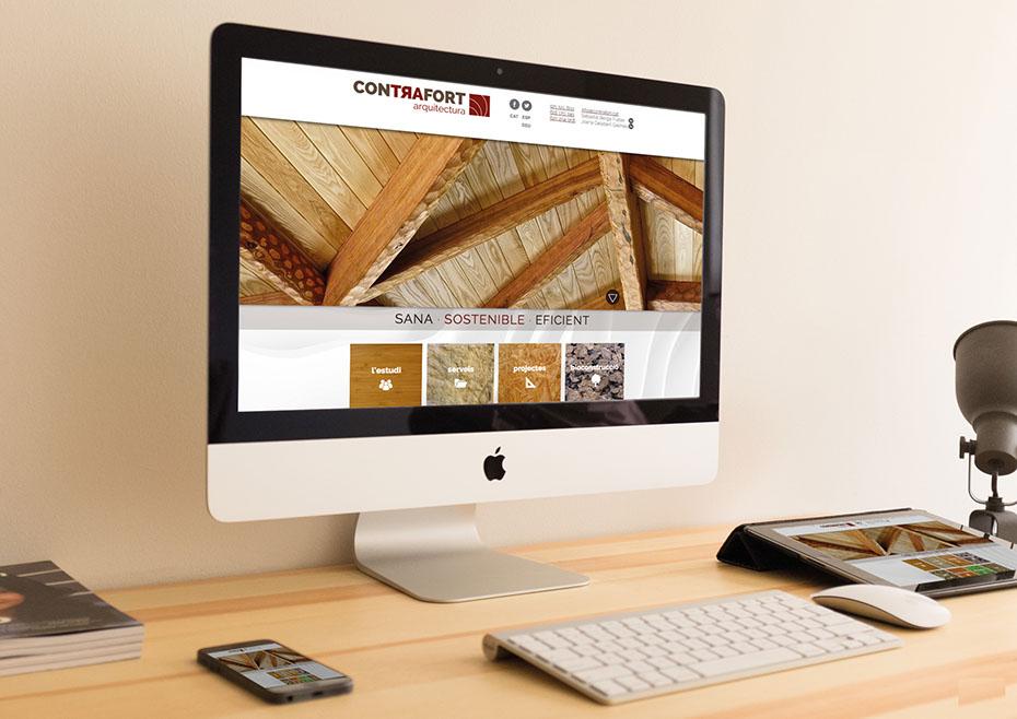 Diseno web Contrafort Arquitectura
