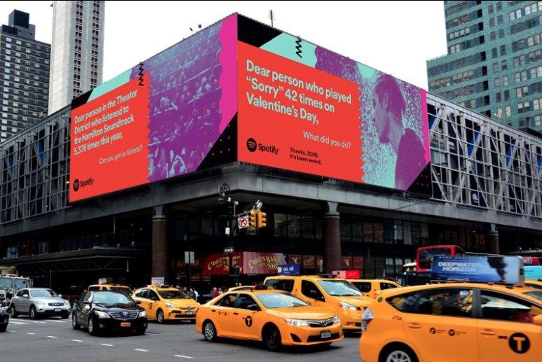 Campañas de marketing navideño spotify